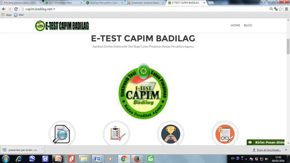 Badilag Menerapkan Sistem Passing Grade Untuk E-Test Capim