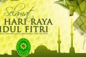 Selamat Hari Raya Idul Fitri 1 Syawal 1437 H