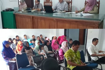 Rapat Koordinasi Pengadilan Agama Manado   29 Juli 2016