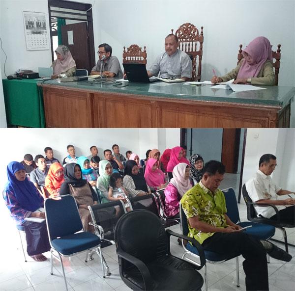 Rapat Koordinasi Pengadilan Agama Manado | 29 Juli 2016