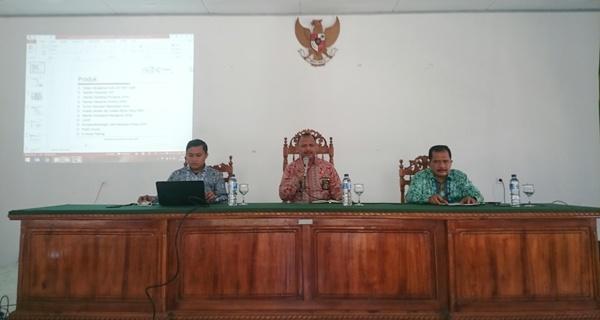 Sosialisasi Sertifikasi ISO 9001:2015 di Pengadilan Agama Kelas 1-B Manado