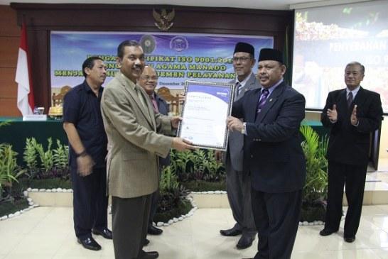 Penyerahan Sertifikat ISO 9001:2015