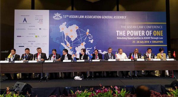 [MARI] Ketua Mahkamah Agung RI Menghadiri Pembukaan General Assembly ALA ke 13 di Singapura