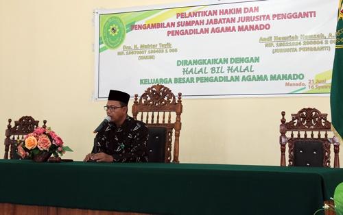 Halal Bi Halal di Pengadilan Agama Manado