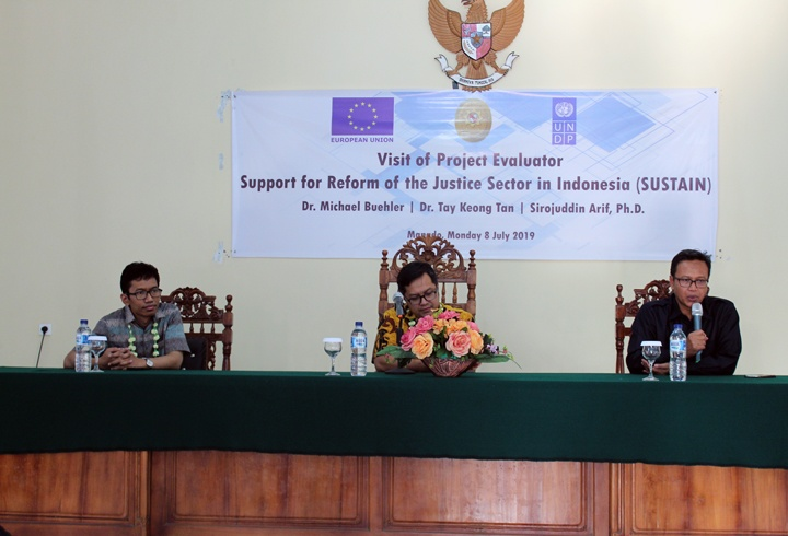 Evaluator Proyek SUSTAIN Apresiasi PA Manado