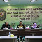 Badilag  Kembali Seleksi Calon Wakil Ketua PA Kelas IA, 28 Peserta Mengikutinya