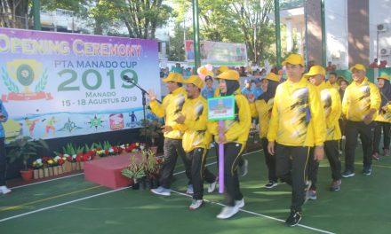 Gelar PTA Manado Cup dalam memeriahkan HUT RI dan MA RI ke 74