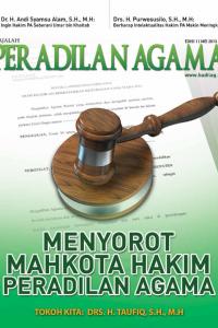 Majalah Peradilan Agama Edisi 1