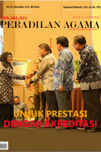 Majalah Peradilan Agama Edisi 13