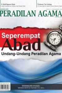 Majalah Peradilan Agama Edisi 5