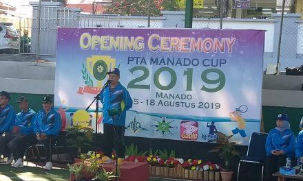 Pembukaan PTA Manado Cup 2019, PA Manado Tampil Semangat dan Siap Raih Juara