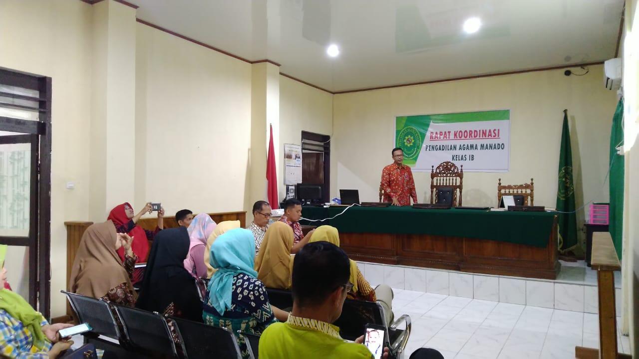 Rapat Koordinasi Dalam Memaksimalkan Pelayanan Berbasis ZI