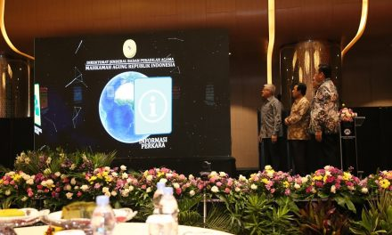 Ketua MA Luncurkan 9 Aplikasi dan Buku Peradilan Agama Yang Agung