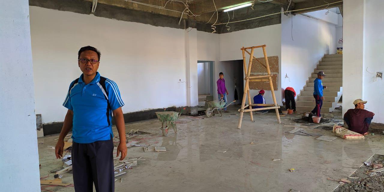Ketua PA Manado Tinjau Progres Pembangunan Baru Pengadilan Agama Manado