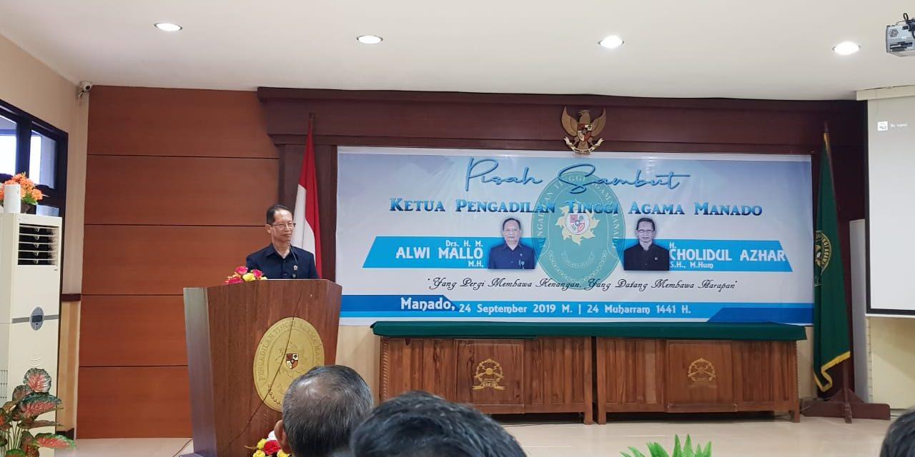 Ketua PA Manado mengikuti Pembinaan, Rapat Koordinasi dan Sosialisasi Zona Integritas di PTA Manado
