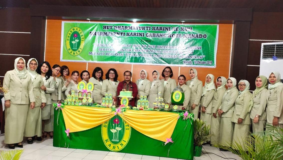 HUT DYK Ke XVII Cabang Manado, DYK PA Manado Santuni Anak Yatim Piatu Panti Asuhan Assallam