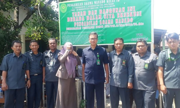 PA Manado Eksekusi Lagi di Kampung Tarnate