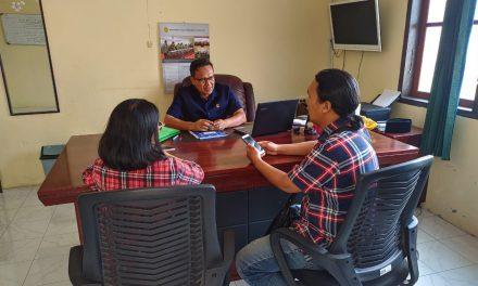 Wartawan Tribun dan Posko sambangi PA Manado