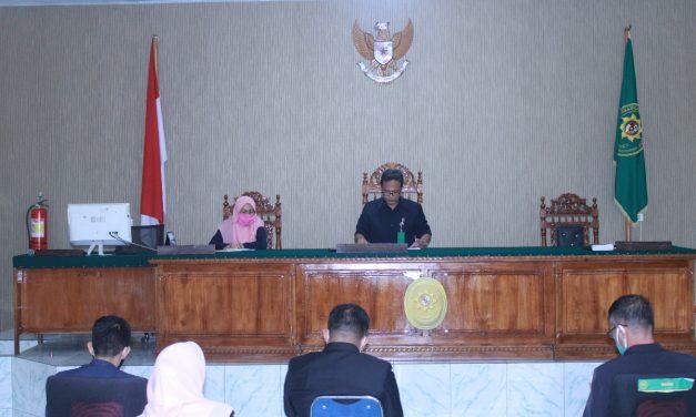 Pengadilan Agama Manado melakukan rapat monitoring dan evaluasi (Monev) kepada seluruh hakim dan pegawai Pengadilan Agama Manado