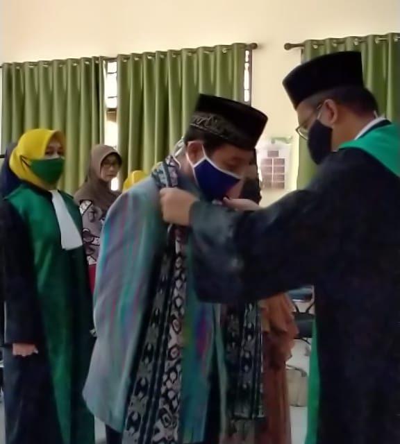 Drs. H. Anis Ismail Pensiun, PA Manado Wisuda Purna Bhakti Salah Satu Hakim Terbaiknya