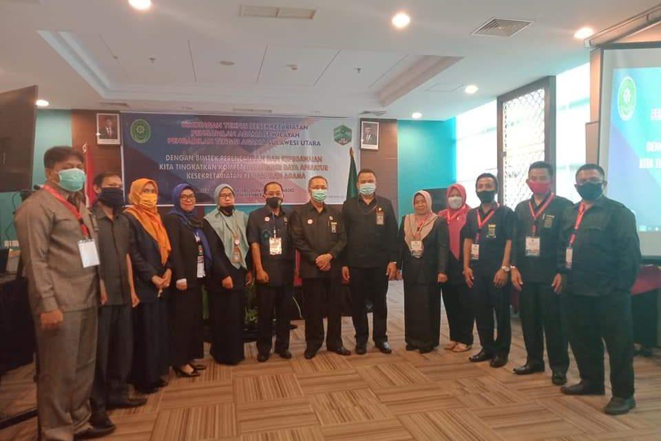 Bimtek Perencanaan dan Kepegawaian se Wilayah PTA Manado.