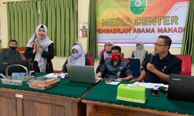 PA Manado Mengikuti Kegiatan Workshop Online CRA dan Evaluasi Penerapan Pasal 11 United Nation Conventions Against Curroption (UNCAC) Via Zoom