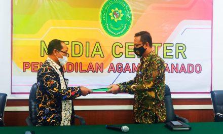 Hatiwasda PTA Manado Lakukan Pengawasan di PA Manado